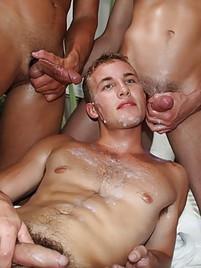 Gay bukkake galleries